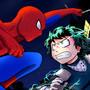 Bnha vs Spider-man by LucasKAMI