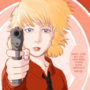 Mitsuru with a Gun
