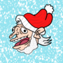 Christmas themed profile picture
