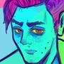 Self portrait in RGB