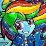 Rainbow Dash - Equestria Girls