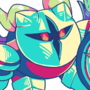 Galacta Knight green palette