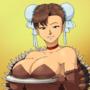 Turkey Girl Chun-Li by Canime