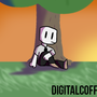 Dude sitting by a tree
