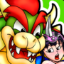 Bowser & Chi-Chi by FunSexyDragonBall