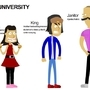 The University - Characters 01 by Blakant