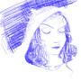 Little Blue Riding Hood by musicistheonlyhi