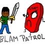 Blam patrol by Giantsockmonster
