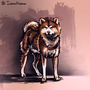 Akita inu by Koel-Art