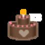 Cake - float GIF