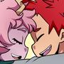 mina and kirishima