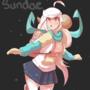 Winter sundae design