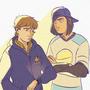 Glenn and Lawrence #3 by dangerjazz