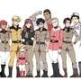 Gundam Attrition: Main Cast by SNEEDHAM507