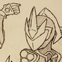 Titan Shivabot lined sketch