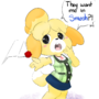 Isabelle invited to Smash by vallycuts