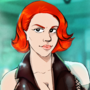 Black Widow (Commission for ALart) by adoggoart