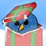 Penguin in a Gift by Mattster