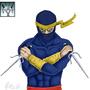 Awesome Ninja Dude Lvl 35 by Fifty-50