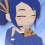 Aya and her Cookie (GIF)