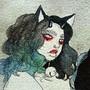 Heck Cat by BigBeautifulWitch