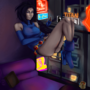 Raven Lounging