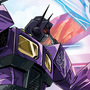 Shattered Glass Optimus Prime vs Soundwave