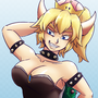 Yet Another Bowsette Drawing by FhantomHed
