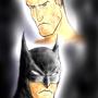 Batman and Bruce by Robobotnik