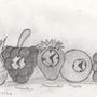 Clock Crew sketch by r1XX0r