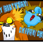 Happy Birthday Chip Chips by jaxxy