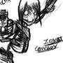Zombi Cowboy by Rhunyc