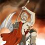 CLoudy axe guy? by aba1