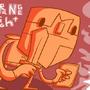 orange knight by Fawx