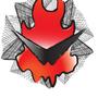 Gurren Flame by DrkTriv8i