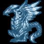 Glass Shard Dragon (2016) by AgentRedJackal