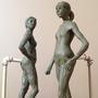 Sister sculpures