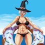 Donut Witch: Floatie (7th--Heaven) by 7StarSoul