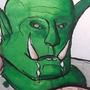 Inktober 2018 D&D: Drooling Orc