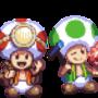 The Toad Brigade (Mario galaxy)
