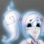Ghost gyaru Hinako by Sucurapu