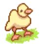 Animated Pixel Duckling by JuliaFliess