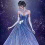 Marinette - Bluebell, by Aurora Lynne