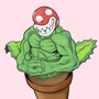 Ripped Piranha Plant by MisterLloyd