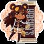 Hershey Kuma: Milk Choco with Almond