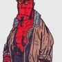 Hellboy by screaming10