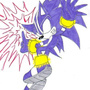 Sonic the black by RoZaS