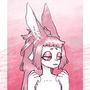a bunny fan art by peachkuns