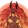 Wildfire Dragoness