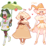 Original designs by Cuttlewltch [June 2018]